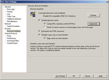 Browser: Browser Emulation