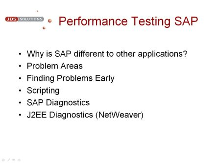 Performance Testing SAP