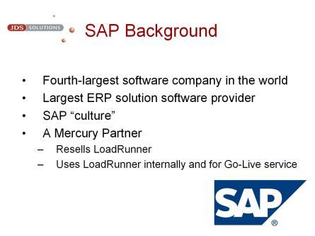 SAP Background