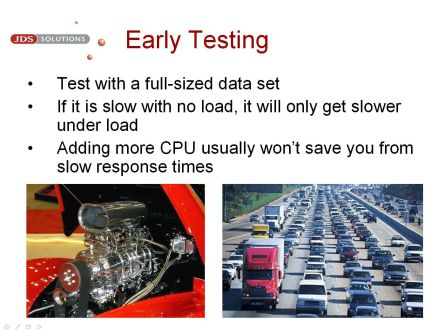 Early Testing