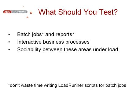 What Should You Test?