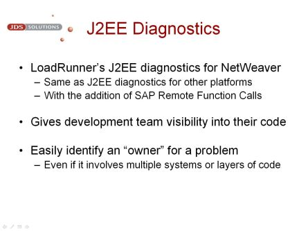 J2EE Diagnostics