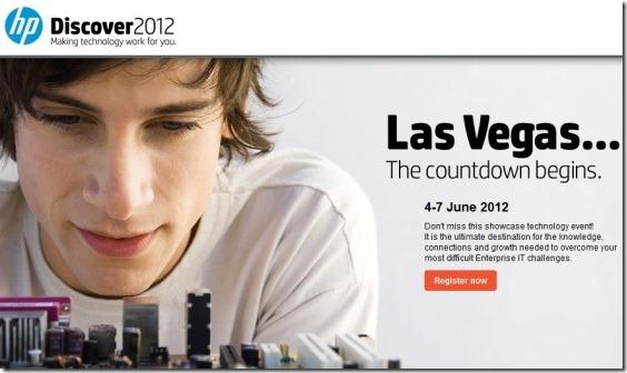 HP Discover 2012 Las Vegas