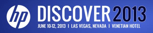 HP Discover 2013 Las Vegas