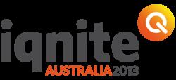 Iqnite Australia 2013 logo