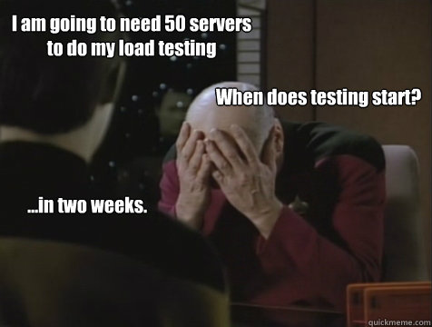 Picard load generator facepalm meme