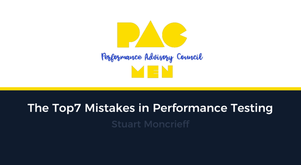 Top 7 Mistakes in Performance Testing