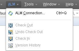 VuGen version control with ALM